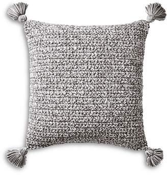 "Coyuchi Organic Woven Tassel Decorative Pillow, 20"" x 26"""