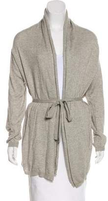 Max Mara Belted Open-Front Cardigan