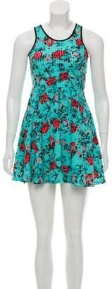 DKNY Sleeveless Printed Dress