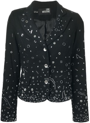 Moschino Pre-Owned embellished blazer