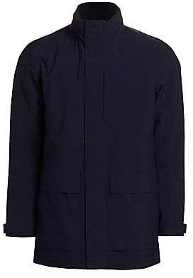 Ermenegildo Zegna Men's Layered Zip-Front Jacket