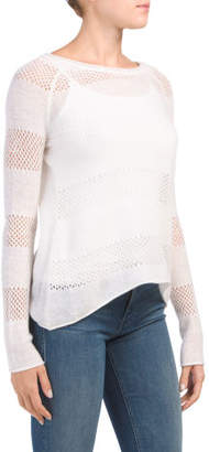 Cashmere Button Back Sweater