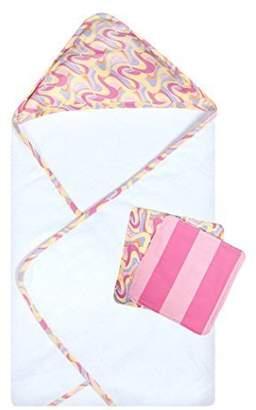 Trend Lab Dr. Seuss Oh, The Places You'll Go! Pink 3 Piece Bath Bundle Box Set, Pink by