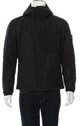 Stone Island Dormeuil Check Lightweight Jacket
