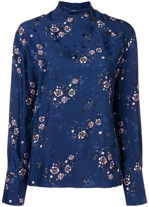 Kenzo Cheongsam Flower blouse