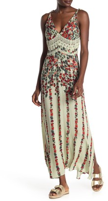 Free People Claire Printed Maxi Dress