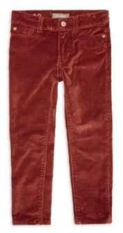 Chloé Little Girl's Skinny Velvet Pants