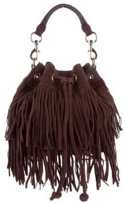 Rebecca Minkoff Suede Fringe Bucket Bag