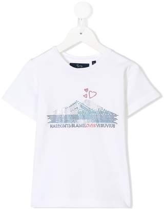 Harmont & Blaine Junior embellished logo T-shirt