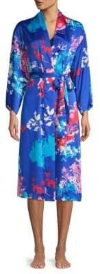 Natori Floral Print Robe