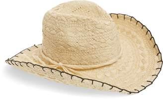 Treasure & Bond Textured Weave Cowboy Hat