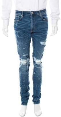 Amiri Shotgun Distressed Jeans w/ Tags