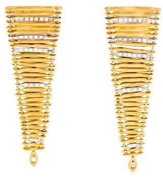 H.Stern 18K Diamond Filaments Earrings