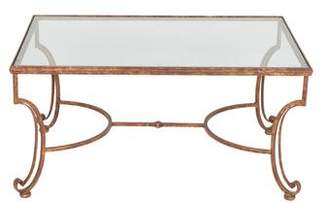 Gilded Iron Coffee Table