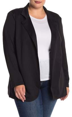 RDI Fitted Knit Long Blazer (Plus Size)