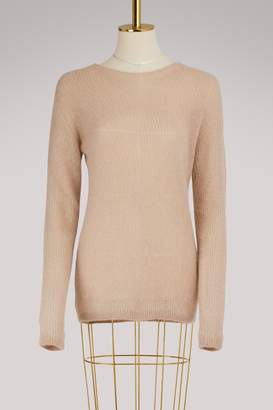 Roberto Collina Ultrafine Mohair Crew Neck Sweater