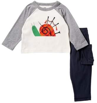 Tea Collection Pucks Glen Baby Outfit (Baby Boys)