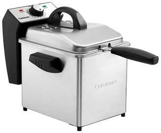 Cuisinart Compact 2qt Deep Fryer - Stainless Steel CDF-130