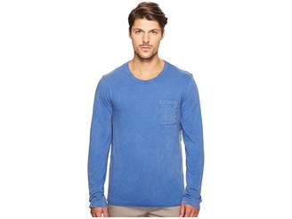 Alternative Brushed Supima Cotton w/ Sun-Dried Wash Saltwater Long Sleeve Tee Men's T Shirt