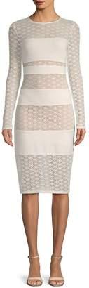 Ali & Jay Women's Geometric Lace Sheath Dress