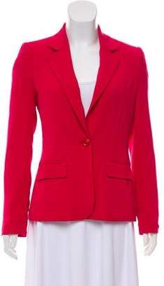 Alice + Olivia Structured Peak-Lapel Blazer