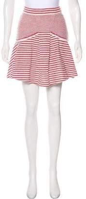 Chanel Knit Flounce Skirt