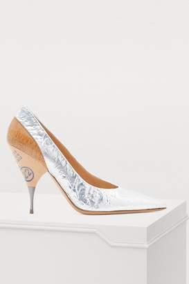 d7804966c82 Maison Margiela Silver Heels - ShopStyle Canada