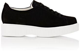 Robert Clergerie Women's Pasket Platform Sneakers-BLACK $495 thestylecure.com