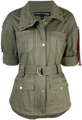 Veronica Beard belted military jacket