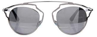 Christian Dior So Real Mirrored Sunglasses