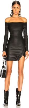 RtA Electra Leather Dress