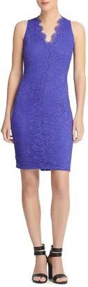 Donna Karan Scalloped Lace Dress