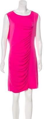 MICHAEL Michael Kors Ruched Sleeveless Dress