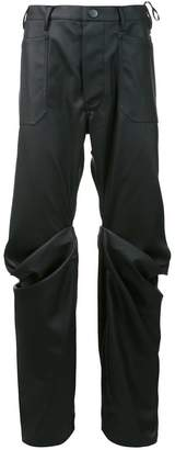 Vivienne Westwood Andreas Kronthaler For 'Boot' wrap knee jeans