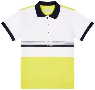 Giorgio Armani Colour Block Polo Shirt