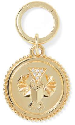 Foundrae - Protection 18-karat Gold Diamond Pendant