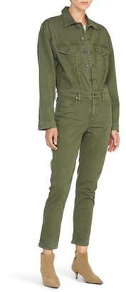 Hudson Jeans Long Sleeve Twill Jumpsuit