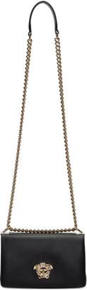 Versace Black Small Palazzo Sultan Bag $1,830 thestylecure.com