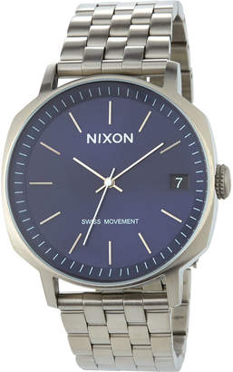Nixon 42mm Regent II SS Bracelet Watch, Navy