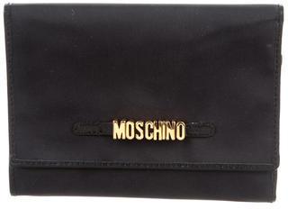 MoschinoMoschino Logo-Embellished Compact Wallet