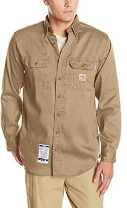 Carhartt Men's Flame Resistant Lightweight Twill Shirt