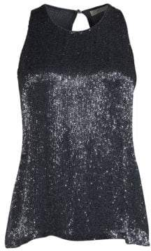 Joie Ebanee Beaded Top