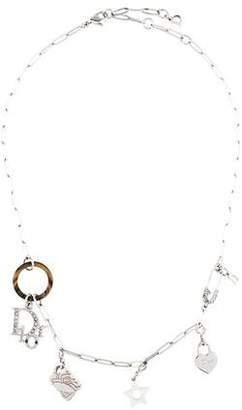 Christian Dior Charm Collar Necklace