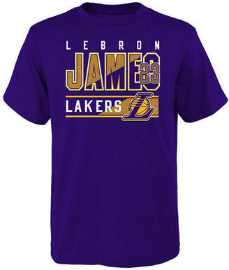 Outerstuff LeBron James Los Angeles Lakers Full Bench T-Shirt, Big Boys (8-20)