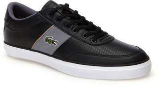 Lacoste Mens Court-Master Nappa Leather Trainers