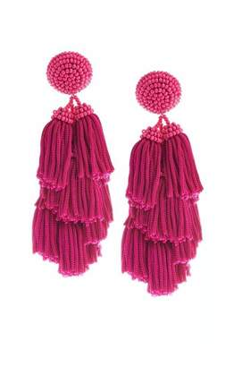 raubxdm p pink c dangle hot earrings fuschia bridesmaids hook fuchsia for fish