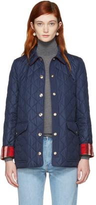 Burberry Navy Westbridge Jacket $695 thestylecure.com