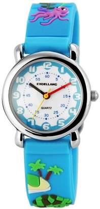 Excellanc Excel Unisex-Wristwatch Rubber Quartz Analog LANC 407023500073