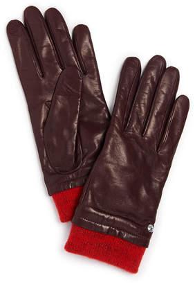 Henri Bendel 712 Leather Gloves