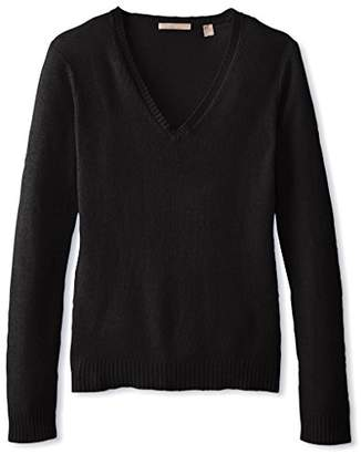Cashmere Addiction Women's V-Neck Sweater